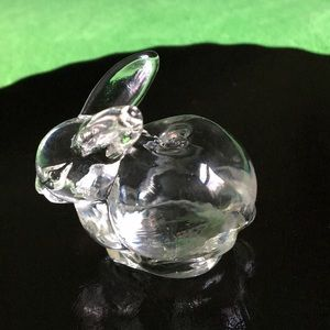 Bunny glass flags/pen/candle holder